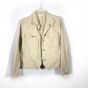 CAbi | Chamois Jacket in Beige
